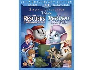 The Rescuers / The Rescuers: Down Under (Three-Disc Blu-ray/DVD Combo in Blu-ray Packaging)
