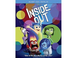 Inside Out (Blu-ray/DVD Combo Pack + Digital Copy) Richard Kind, Bill Hader, Lewis Black
