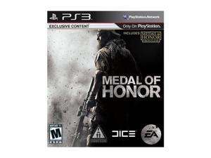 Medal of Honor Playstation3 Game EA