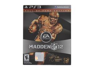 Madden 2012 Hall of Fame Edition Playstation3 Game EA