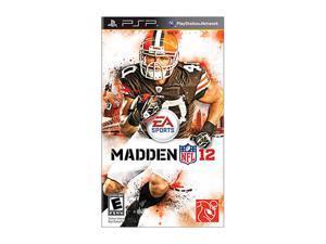 Madden NFL 12 PSP Game EA