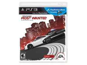 Need for Speed Most Wanted (2012) Playstation3 Game                                                                      ...