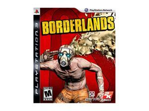 Borderlands Playstation3 Game, Greatest Hit Edition 2K