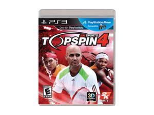 Top Spin 4 Playstation3 Game