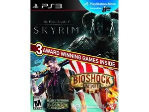 Elder Scrolls V: Skyrim & Bioshock Infinite Bundle PlayStation 3 2k Games