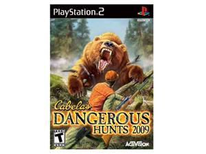 Cabela's Dangerous Hunts 2009 PlayStation 2 (PS2) Game Activision