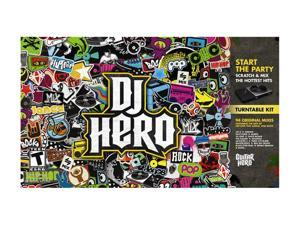 DJ Hero w/Turntable Playstation3 Game