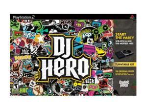 DJ Hero w/Turntable PlayStation 2 (PS2) Game Activision