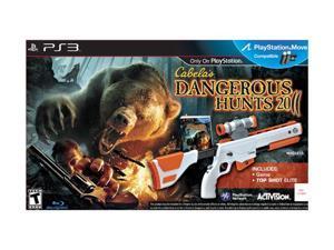Cabela's Dangerous Hunts 2011 Gun Bundle PlayStation 3