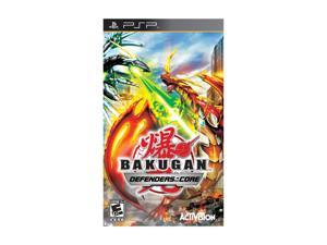 Bakugan Battle Brawlers: Defenders of the Core PSP Game Activision