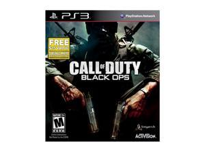 Call of Duty Black Ops Limited Edition w/First Strike Pack Playstation3 Game