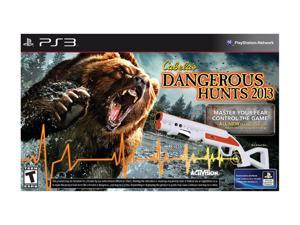 Cabela's Dangerous Hunts 2013 w/gun Playstation3 Game                                                                    ...