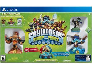 Skylanders SWAP Force Starter Pack PS4 Game Activision