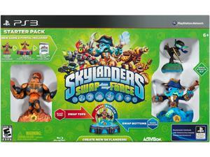 Skylanders SWAP Force Starter Pack PS3 Game Activision