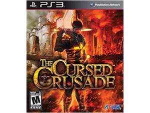 ATLUS USA CC-00136-1 THE CURSED CRUSADE PS3