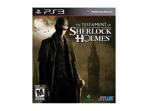 Testament of Sherlock Holmes Playstation3 Game