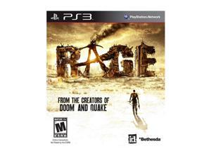Rage Playstation3 Game Bethesda