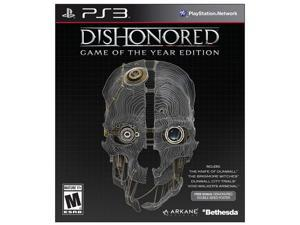 Dishonored: Game of the Year Edition Playstation3 Game Bethesda