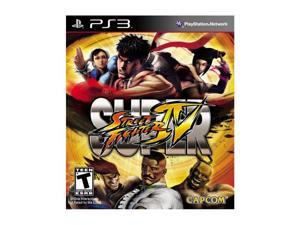Super Street Fighter IV Playstation3 Game CAPCOM