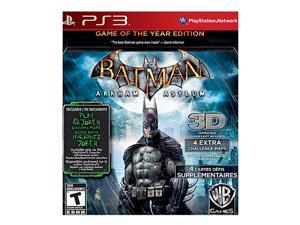Batman Arkham Asylum Game of the year Playstation3 Game
