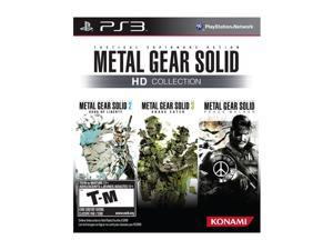 Metal Gear Solid HD Collection Playstation3 Game KONAMI