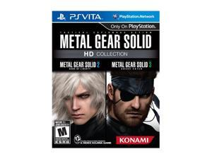 Metal Gear Solid HD Collection PS Vita Games KONAMI