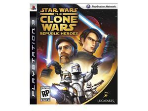 Star Wars: Clone Wars Republic Heroes Playstation3 Game LUCASARTS