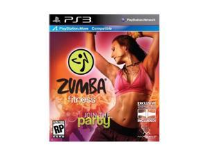 Zumba Fitness Playstation3 Game Majesco