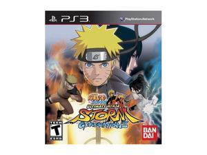 Naruto Shippuden: Ultimate Ninja Storm Generations Playstation3 Game NAMCO BANDAI Games