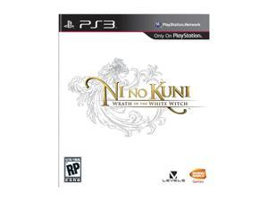 Ni No Kuni: Wrath of the White Witch Playstation3 Game NAMCO BANDAI Games