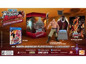 One Piece: Burning Blood - Marineford Edition PS4 Video Games