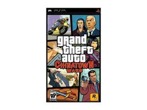 Grand Theft Auto: Chinatown Wars PSP Game Rockstar Gaming