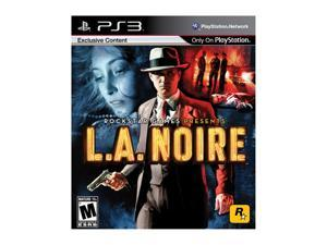 L.A. Noire Playstation3 Game ROCKSTAR