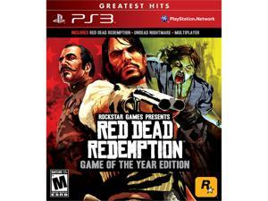 Red Dead Redemption: Game of the Year Edition Playstation3 Game ROCKSTAR