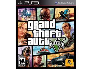 Grand Theft Auto V Playstation3 Game ROCKSTAR