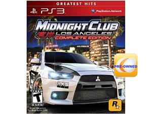 Midnight Club: Los Angeles Complete - Pre-Owned PS3 ROCKSTAR