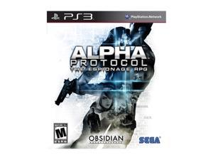 Alpha Protocol Playstation3 Game SEGA