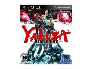 Yakuza Dead Souls Playstation3 Game SEGA