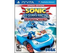 Sonic & All-Stars Racing Transformed PS Vita Games