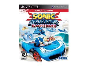 Sonic & All-Stars Racing Transformed Playstation3 Game SEGA