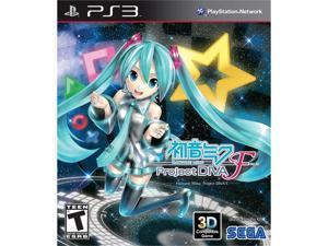 Hatsune Miku: Project Diva F PS3 Game