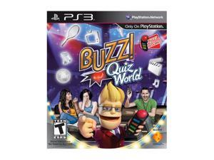 Buzz! Quiz World (Game Only) Playstation3 Game SONY