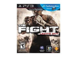 The Fight: Lights Out Playstation3 Game SONY