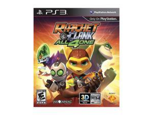Ratchet & Clank: All 4 One Playstation3 Game SONY