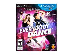 Everybody Dance Playstation3 Game SONY