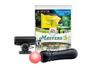 PS3 Move Bundle with Tiger Woods 12: The Masters Playstation3 Game