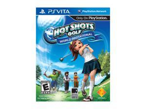 Hot Shots Golf: World Invitational PS Vita Games SONY