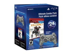 SONY Playstation 3 Camo Dual Shock 3 w/Killzone 3 Bundle