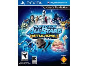 Playstation All Stars Battle Royale PS Vita Games SONY