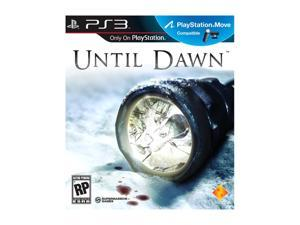 Until Dawn Playstation3 Game